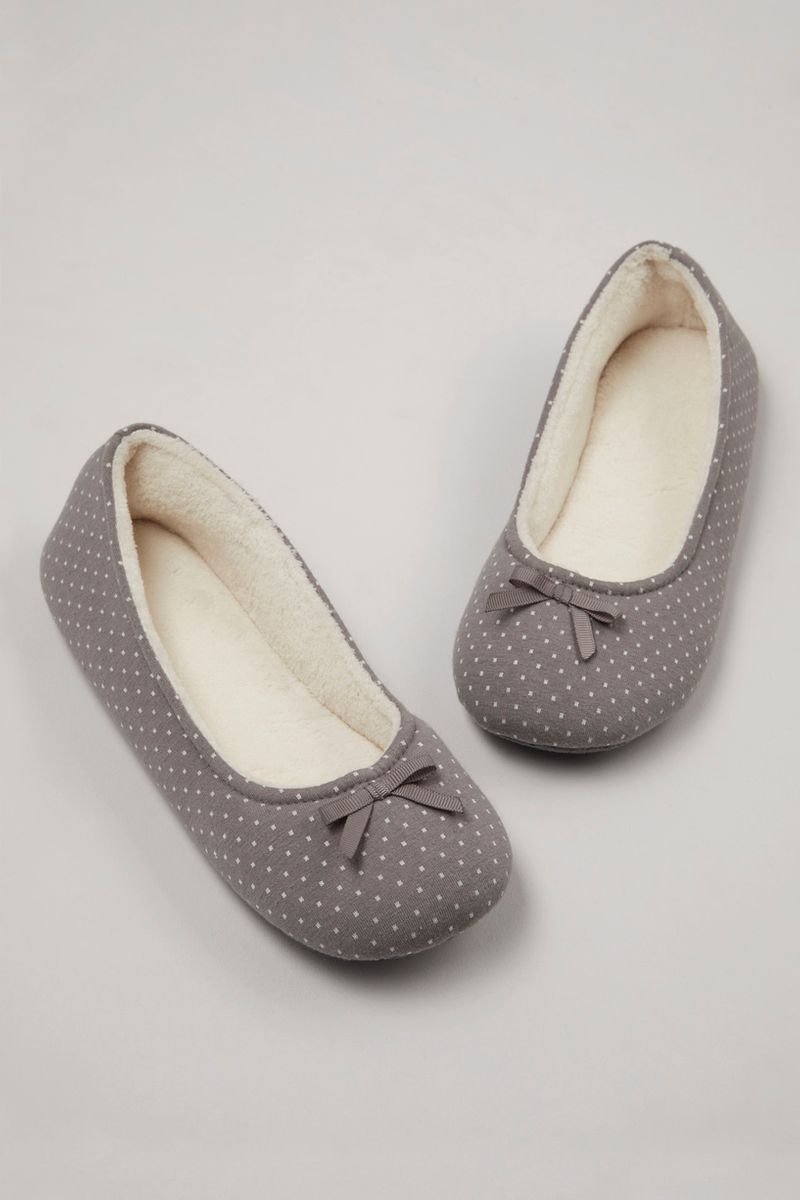 Jersey Ballerina Slippers