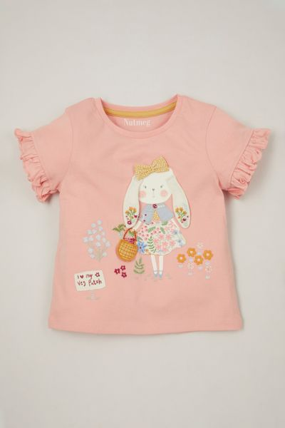 3D Bunny Applique T-shirt