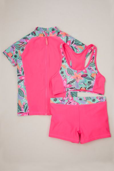 3 Piece Tropical Swim set