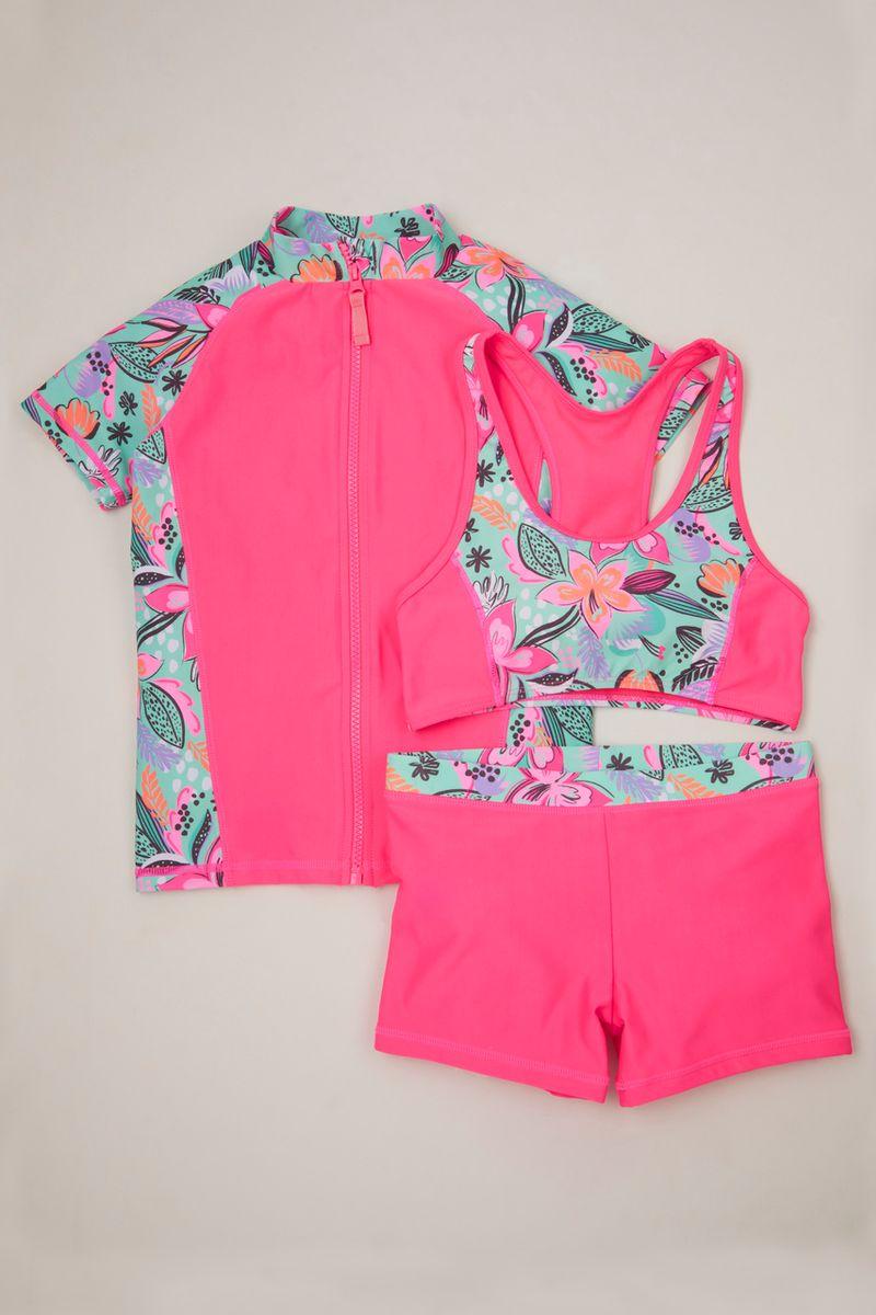 3 Piece Tropical Swim set