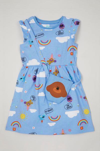 Hey Duggee Dress & bag
