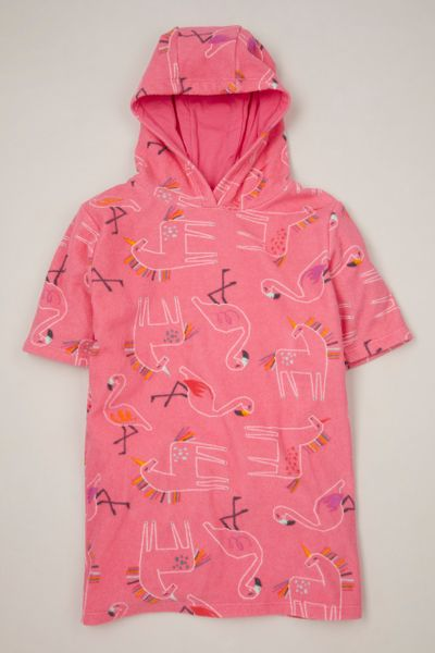 Pink Unicorn Hooded towel
