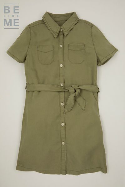 Be Like Me Khaki Safari Dress 3-14yrs