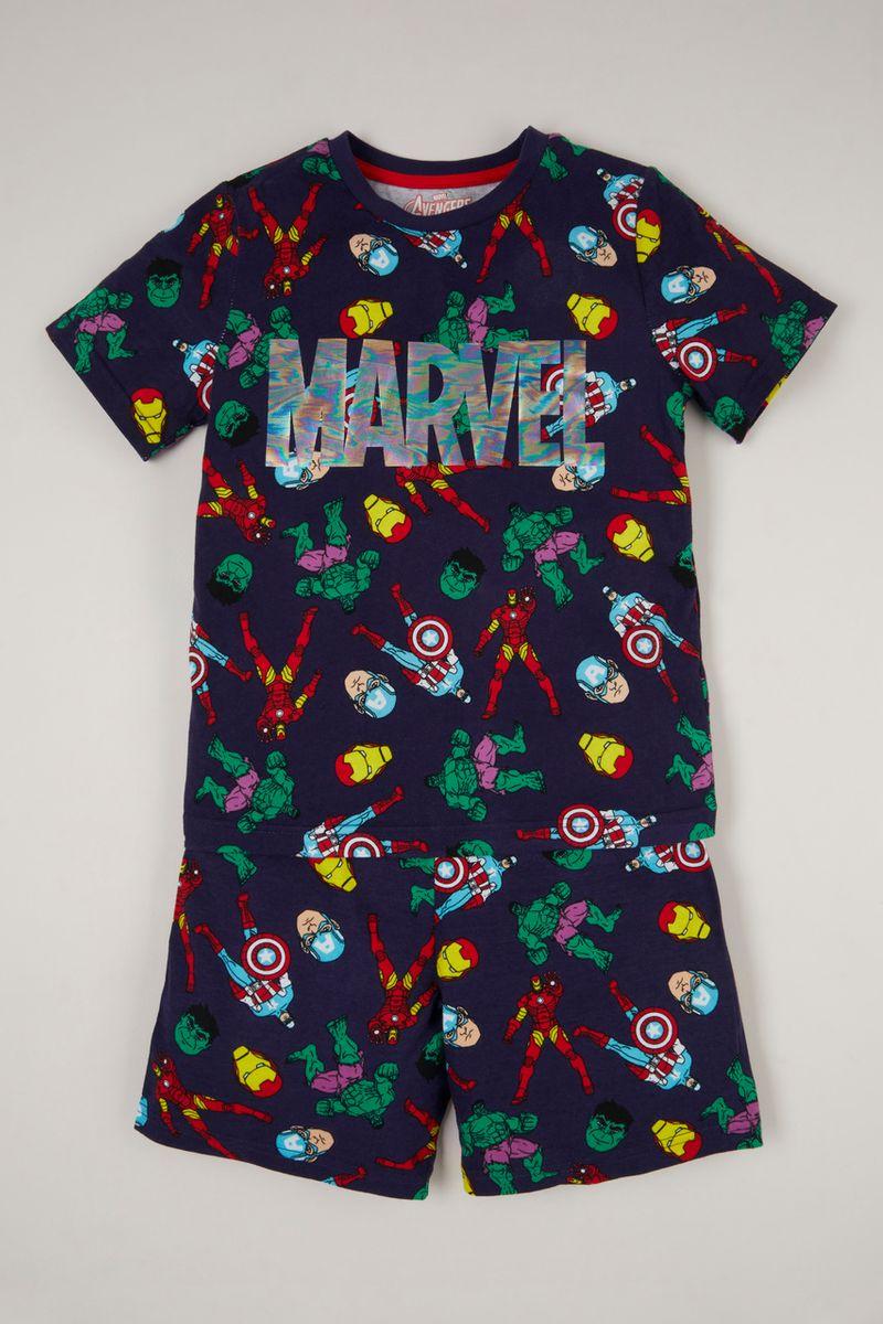 Marvel Avengers Print Pyjamas