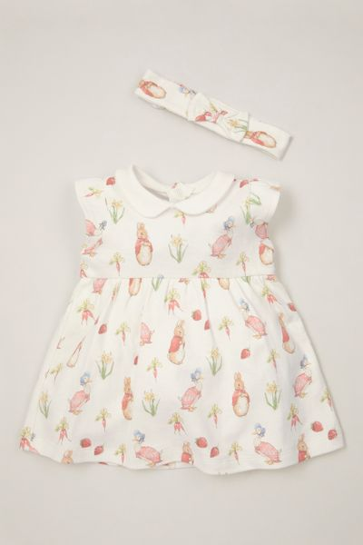 Peter Rabbit Dress & Headband