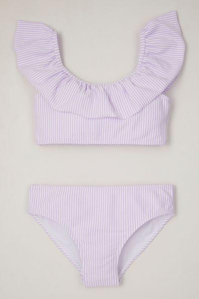 Online Exclusive Lilac Seersucker bikini