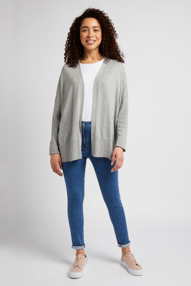 Grey Marl Cardigan