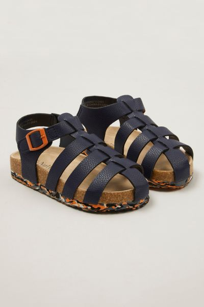 Camo Print Sole Sandal