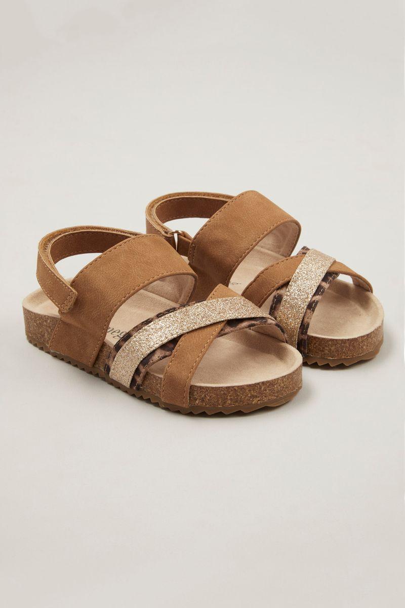 Animal Glitter Sandals