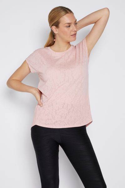 Activewear Pink Top