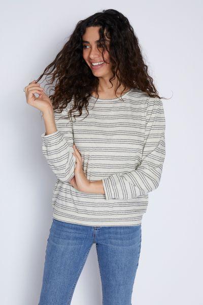 Stripe Textured Top