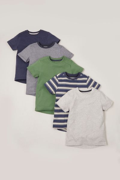 5 Pack Stripe T-shirts