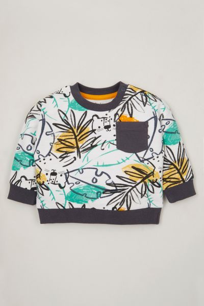 Tropical Leaf sweatshirt