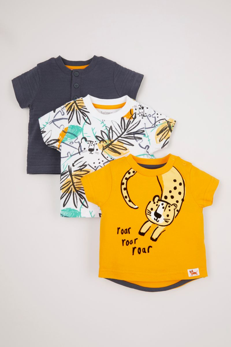3 Pack Tiger T-Shirts