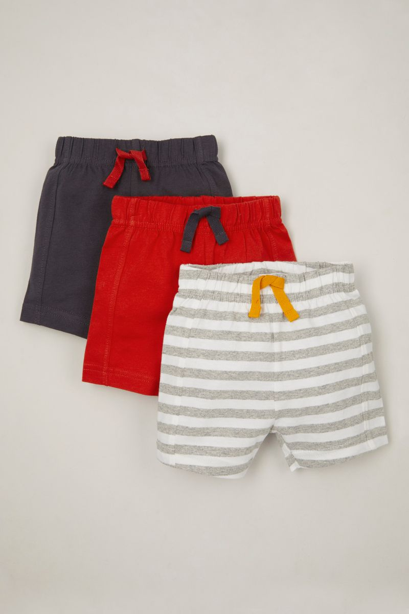 3 Pack Red Jersey shorts