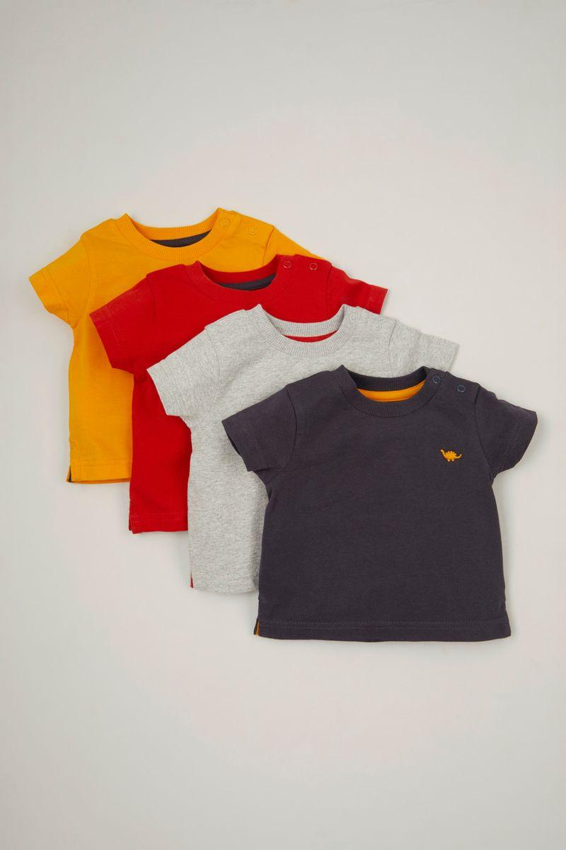 4 Pack Dinosaur T-shirts