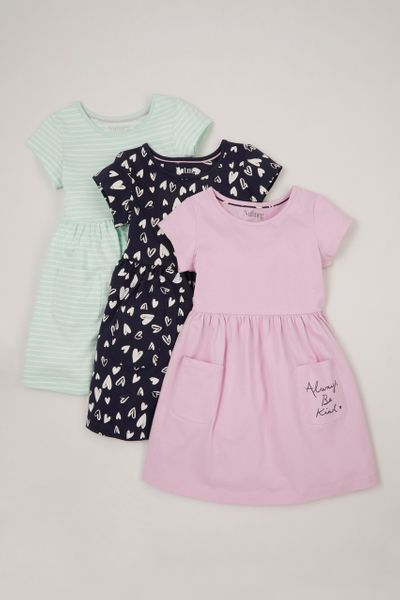 3 Pack Sporty dresses