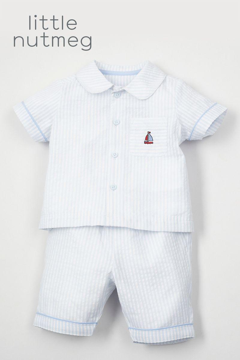 Little Nutmeg Stripe Pyjamas