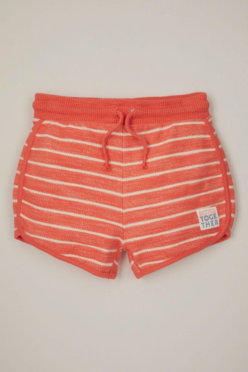 Stripe Toweling shorts