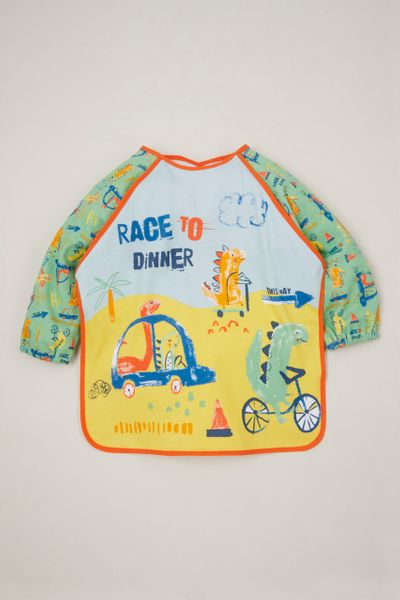Race to Dinner Coverall bib