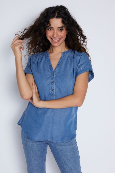 Denim Overhead Shirt