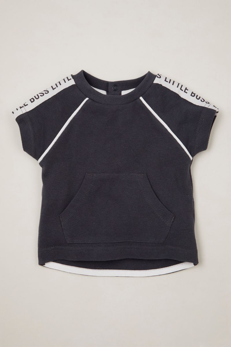 Little Boss Kangaroo Pocket T-shirt