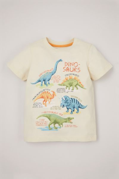 Cream Dinosaur T-shirt