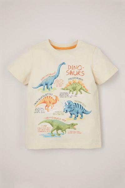 Cream Dinosaur T-shirt