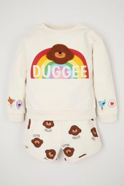 Hey Duggee Sweatshirt & shorts