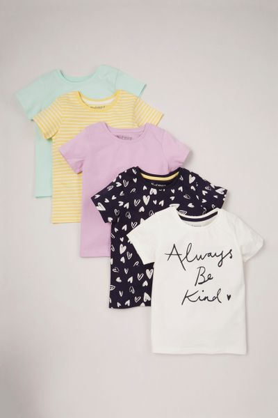 5 Pack Be Kind T-shirts