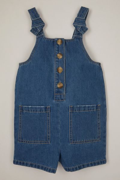 Denim Knot Detail dungaree