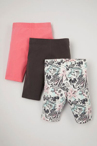 3 Pack Tropical Cycling Shorts