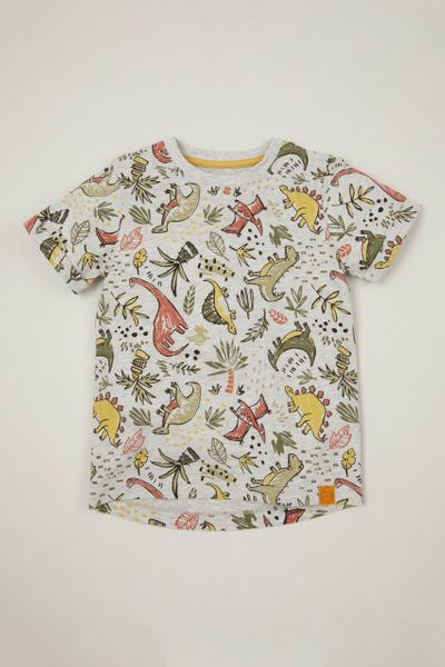 Dino Garden Print T-shirt