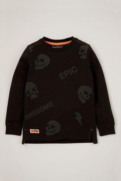 Charcoal Skull T-shirt