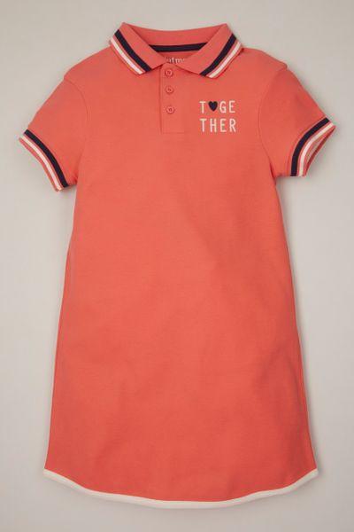Coral Tennis dress