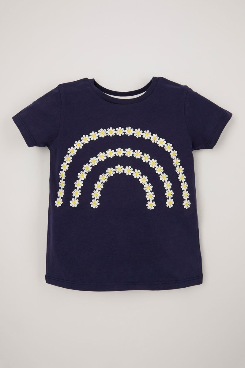 Navy Daisy Chain T-Shirt
