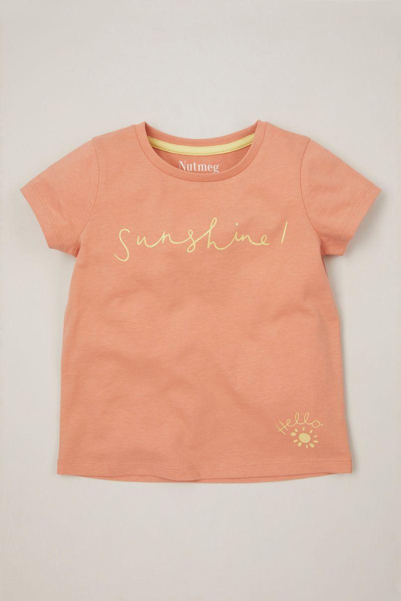 Peach Hello T-shirt