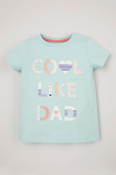 Cool Like Dad Slogan T-Shirt