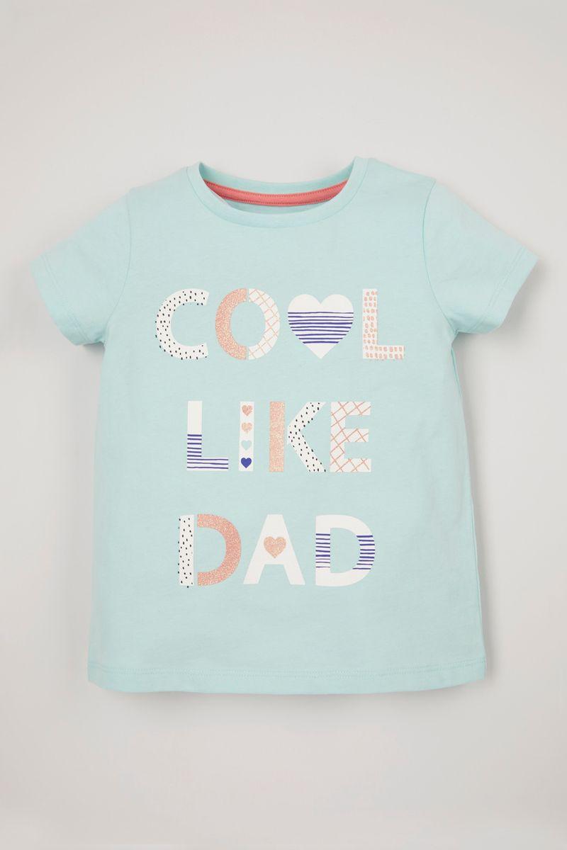 Cool Like Dad Slogan T-Shirt