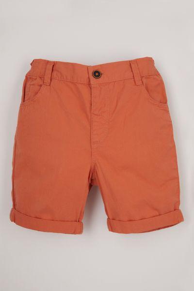 Orange Chino Shorts 1-10yrs