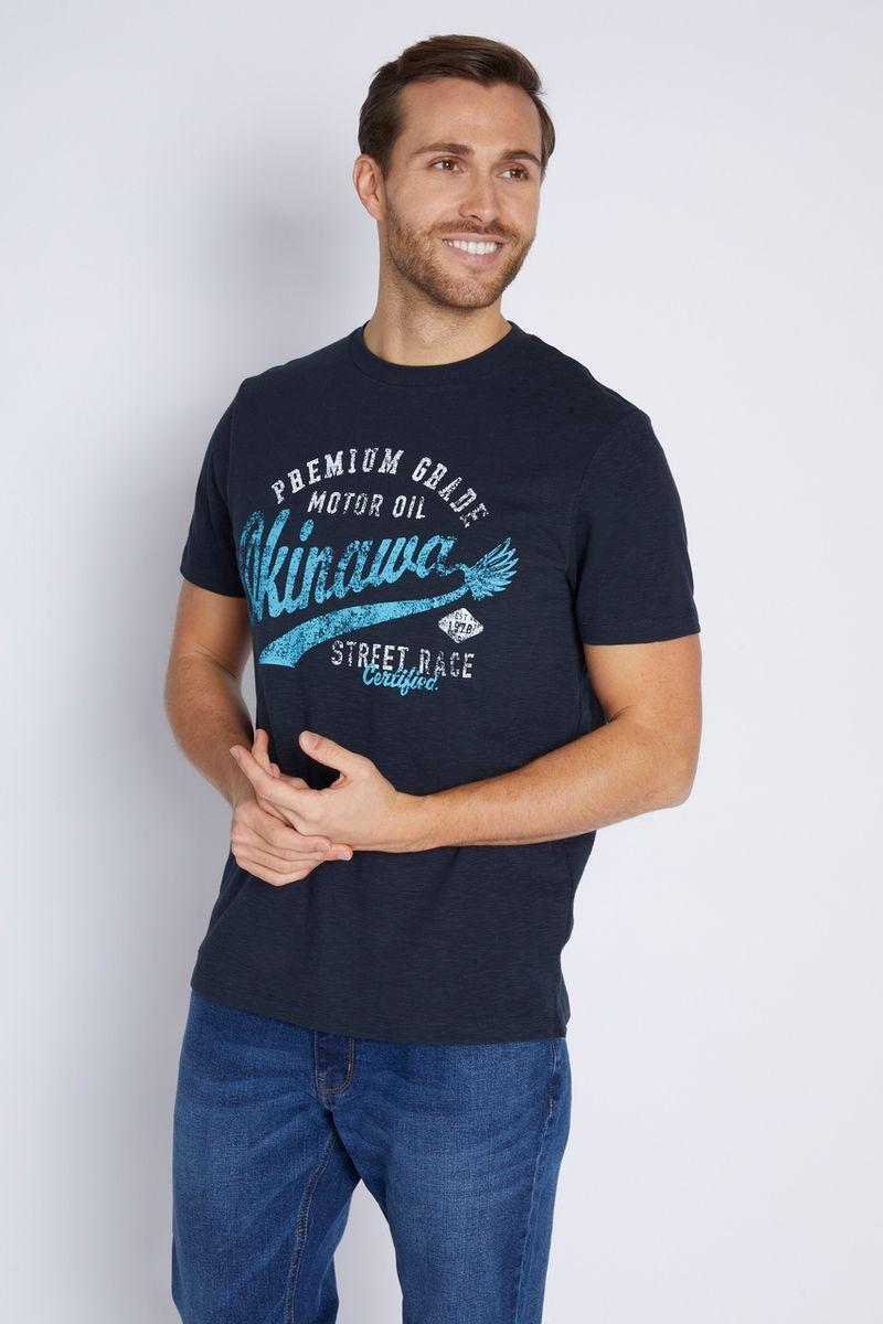 Navy Street Race T-Shirt
