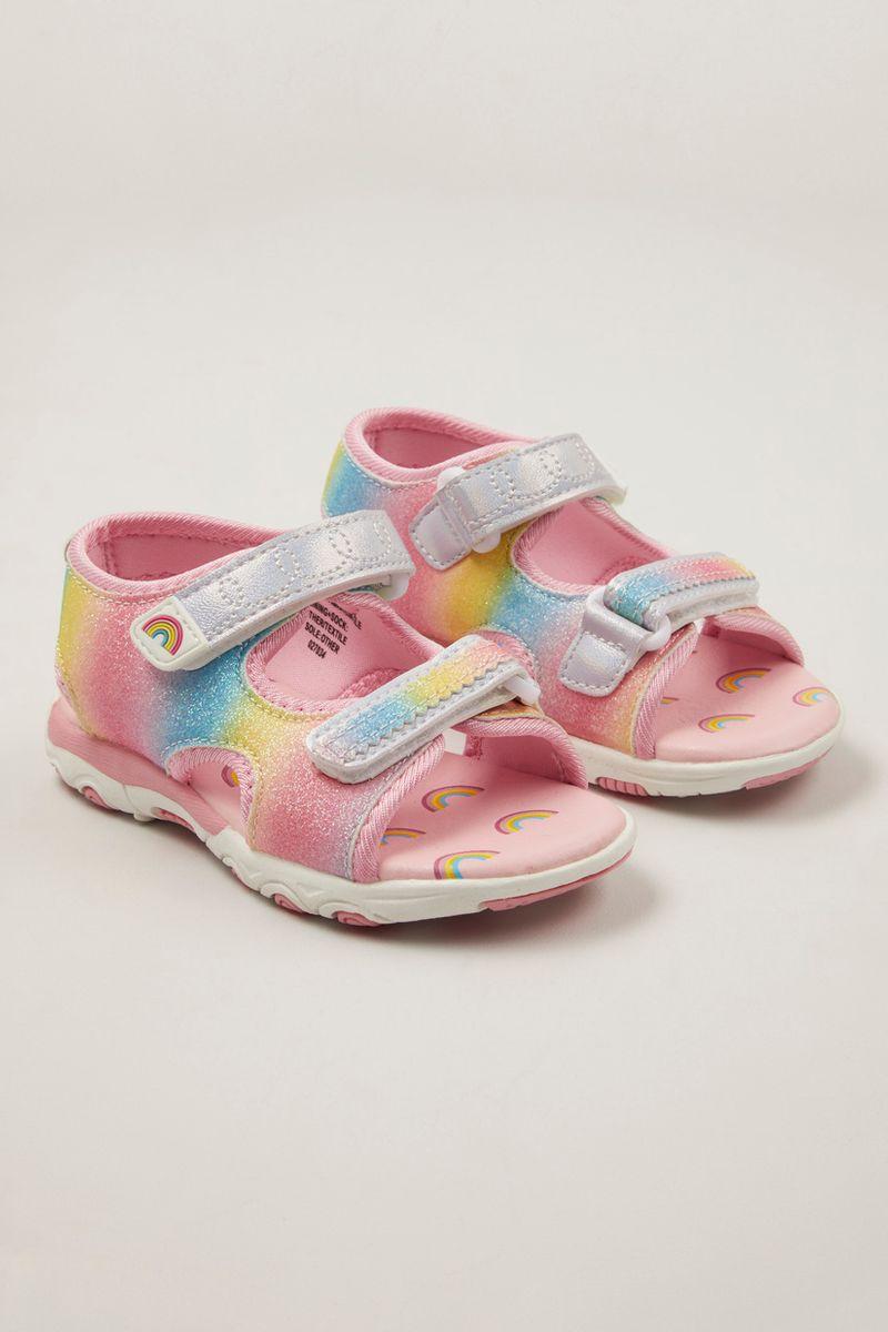 Rainbow Colour Sandals