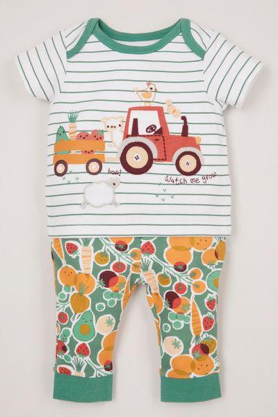 Farm Applique pyjamas