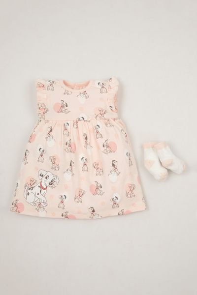 Disney 101 Dalmatians Romper Dress Set