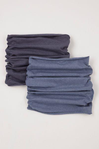 2 Pack Stripe Neckbands