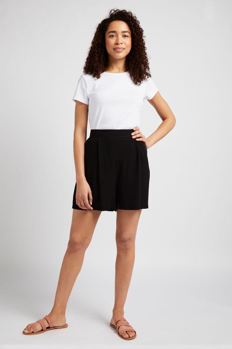 Black Soft Shorts