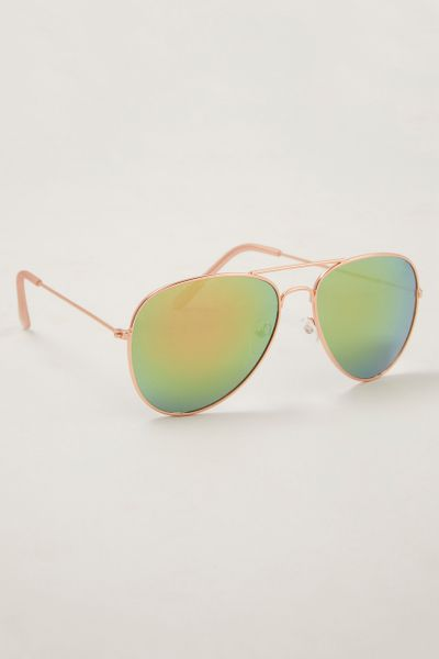 Be Like Me Rose Gold Aviators
