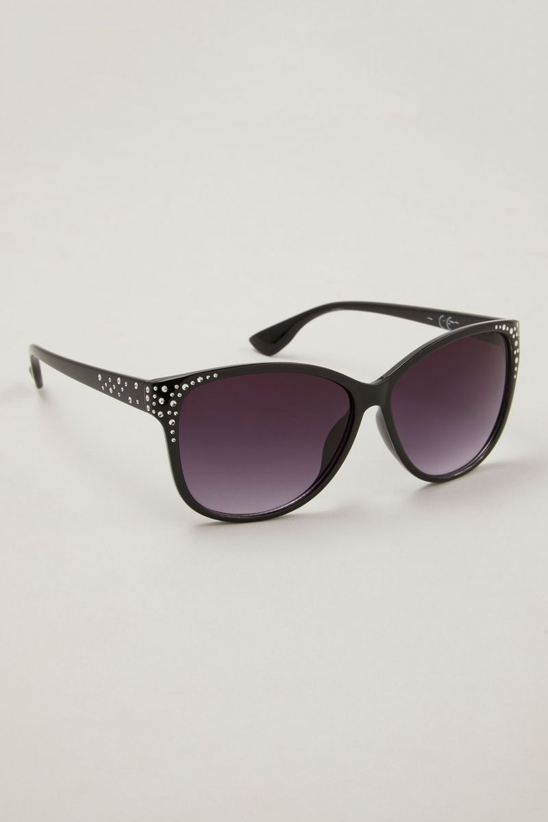 Sparkle black sunglasses