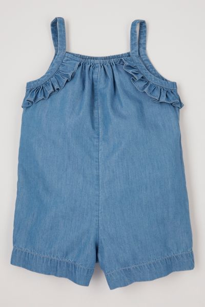 Denim Playsuit 1-6yrs