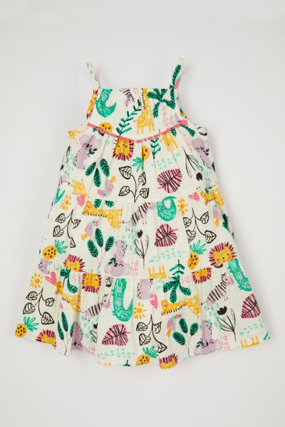 Jungle Woven dress